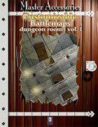 Customizable Battlemaps, dungeon rooms Vol.I