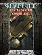 SKIRMISH TILES, Castle System: ground level