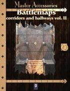 Battlemaps: Corridors and Hallways Vol. II