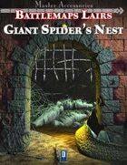 Battlemaps Lairs: Giant Spider's Nest
