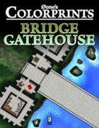 0one's Colorprints #4: Bridge Gatehouse