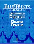0one's Blueprints: Dwarven Depths - Grand Temple