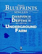 0one's Blueprints: Dwarven Depths - Underground Farm