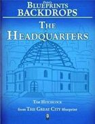 0one's Blueprints Backdrops: The Headquarters