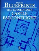 0one's Blueprints: The Ruined Town, Castle Falconflight