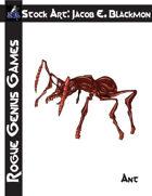 Stock Art: Blackmon Ant