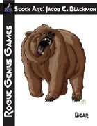 Stock Art: Blackmon Bear