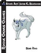 Stock Art: Blackmon Blink Dog