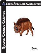 Stock Art: Blackmon Boar