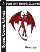 Stock Art: Blackmon Devil Imp