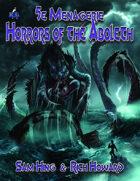 5e Menagerie: Horrors of the Aboleth