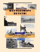 Battleships Zenith: WW2 Naval Combat w/Computer Assistance
