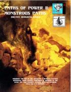 Paths of Power II: Monstrous Paths