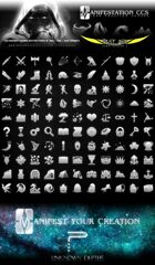 Fantasy Game Icons Set - Past Age (Icon Series I)
