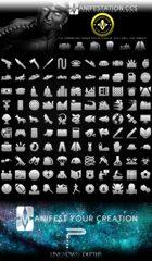 Modern Era Game Icons Set - Modern Age (Icon Series I)