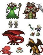 Art Pack for Boss Monster Card Creator