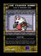 The Feaster Bunny - Custom Card