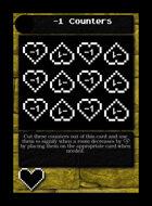 -1 Counters - Custom Card