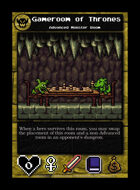 Gameroom Of Thrones - Custom Card