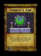 Copycat's Eye - Custom Card