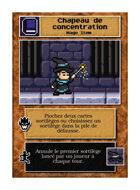 Chapeau De Concentration - Custom Card