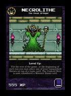 Necrolithe - Custom Card