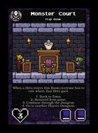 Monster Court - Custom Card