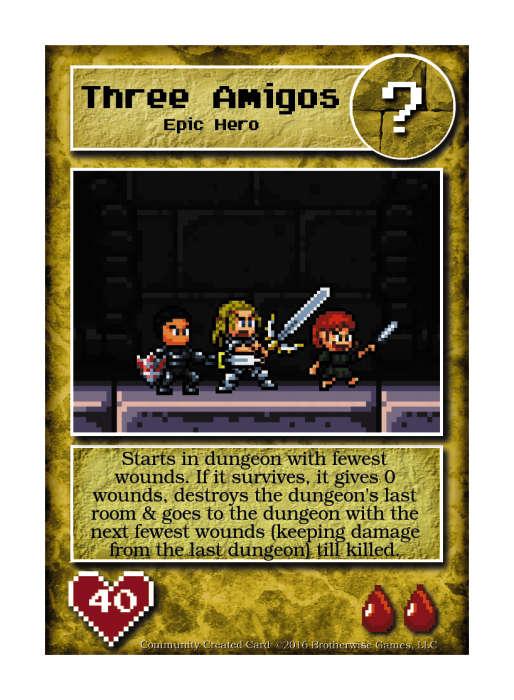 Three Amigos - Custom Card