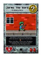 Jarms the Bard - Custom Card