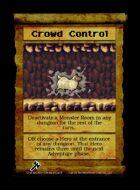 Crowd Control - Custom Card