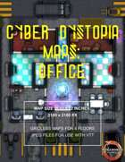 Cyber Dystopia - Office Map