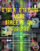 Cyber Dystopia - Streets and Suburbs Map Pack