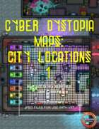 Cyber Dystopia - City Locations 1 Map Pack