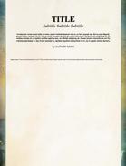 7th Sea: Creator Resource Word Template