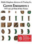 Adventure Map Tiles: Cavern Encounters Tiles Set 1