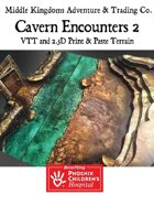 Adventure Map Tiles: Cavern Encounters Tiles Set 2