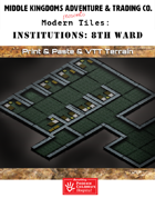 Modern Tiles - Institutions: 8th Ward