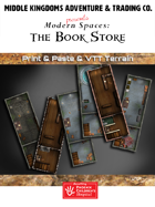 Adventure Map Tiles: The Book Store