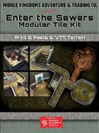 Modern Map Tiles - Enter the Sewers
