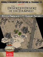 Adventure Map Tiles: Deserted Desert of the Damned