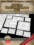 KwikTiles: Hand Drawn Dungeons Set 1