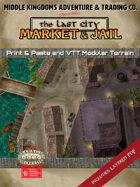 Battle Map: The Last City: Market & Jail