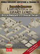 Isometric Dungeons: Labyrinth of the Lizard Lord