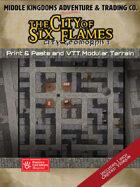 KwikTiles: The City of Six Flames: City Geomorph 1