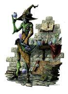 RPG Fantasy Character, Male, Human Alchemist