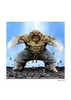 RPG Fantasy Character, Male, Dwarf Monk