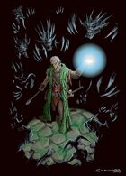 RPG Fantasy Character, Male, Elf Sorcerer