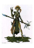 RPG Fantasy Character, Female, Elf Druid