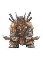 RPG Fantasy Character, Male, Dwarf Warrior