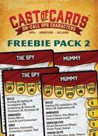 Cast of Cards: Freebie Pack 2 (Fantasy)